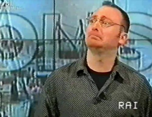 Ecco il mio esordio in tv…anno 2005, la …